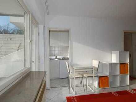 Möbliertes Apartment: Citynah und zentral + Nähe MILANEO + sehr hell + grosse Südterasse + Küche