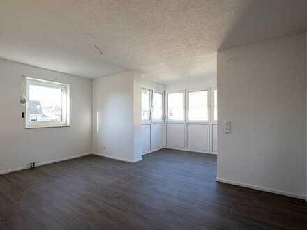 Hochwertig renovierte 2-Raum-Wohnung mit Balkon und Einbauküche in Horb am Neckar Dettensee