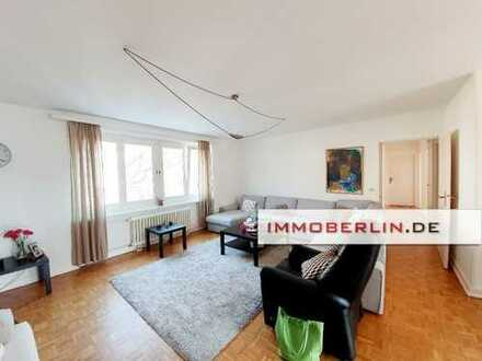 IMMOBERLIN: Toplage Dahlem! Familienfreundliche Wohnung mit Südwestbalkon
