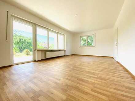Erstbezug nach Sanierung: attraktive 3-Zimmer-Erdgeschosswohnung mit sonniger Terrasse in Rohrenfels