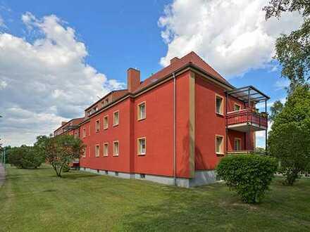 3 Zimmer mit Balkon und Gartenoption