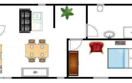 Schöne helle DG-Wohnung zum Erstbezug nach Kernsanierung im Herzen von Baden-Baden