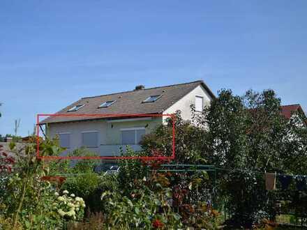 große Vier Zimmer Wohnung mit Gartenanteil in Wolterdingen