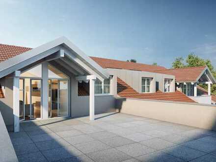 Ihr neuer DG-Wohntraum mit 60 m² Dachterrasse wird wahr!
