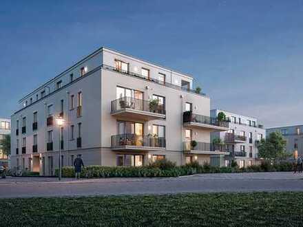 Ansprechende 3 Zimmer Wohnung mit Wannenbad, bodengleicher Dusche, Abstellkammer und Süd-Balkon