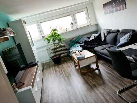 Gepflegte 3-Zimmer-Dachgeschosswohnung zur Miete in Karlsruhe Hagsfeld