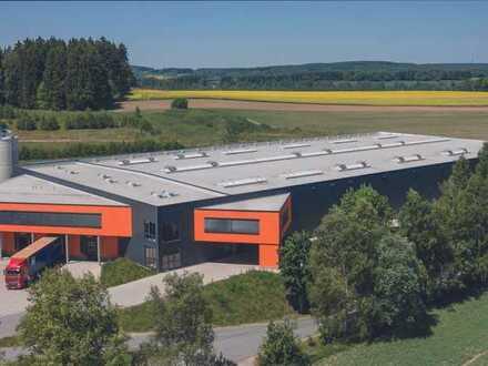Großzügige Industrie-Stahlbauhalle (Neubau) mit Kopfbau- ideal für Industrie / Logistik geeignet