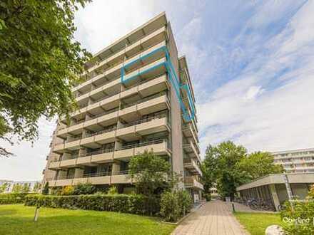 3 Zimmer Wohnung sehr hell, 2 Balkone in Schwabing