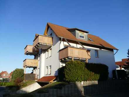 Sehr schöne und individuelle 3-Zimmer-Wohnung mit Balkon im Stadtteil Döbbrick