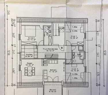 Gepflegte 4-Zimmer-Wohnung mit Balkon und EBK in Gärtringen