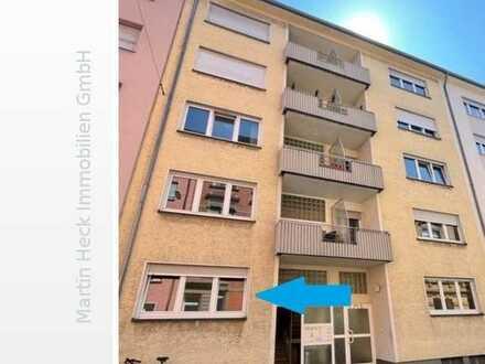 Neu renovierte 2 Zimmer Erdgeschosswohnung mit Balkon nahe Universität!