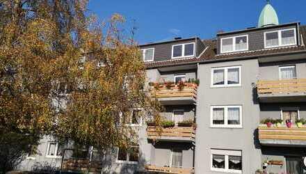 Bochum-Gerthe - gemütliche 2,5-Zimmer-Dachgeschosswohnung mit Ausblick