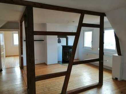 4 ½ Zimmer Dachgeschoßwohnung mit 3 Zimmer Kellerwohnung