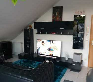 -RESERVIERT- Schöne möblierte Dachgeschosswohnung -RESERVIERT-
