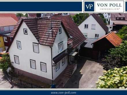 Großem Grundstück in zentraler Lage in Gärtringen mit altem Bauernhaus