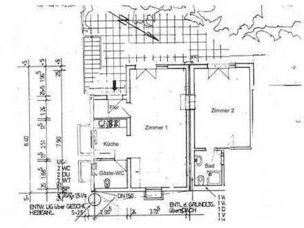 Einliegerwohnung am Safranberg in Ulm mit 2 Zimmern und 68 qm, frei ab 01.04.2020