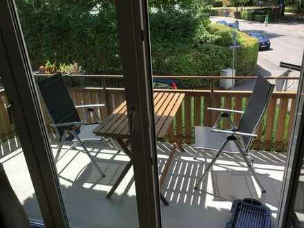 Balkon, gemeinsames Wohnzimmer und deine eigenen 13qm