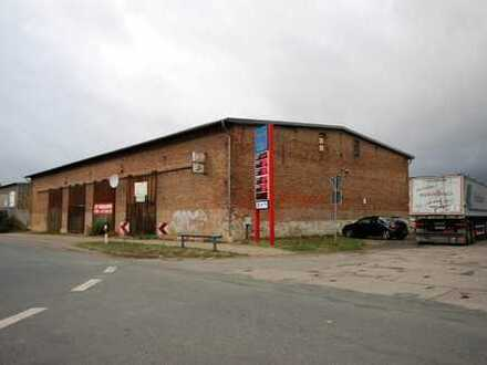 Grundstück mit großer Halle in Osterwieck zu verkaufen...