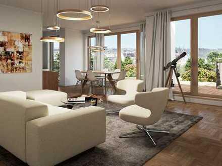 Penthouse auf ~137m² mit zwei herrlich großen Terrassen und wundervollem Rundumblick