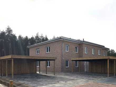ERSTBEZUG: 3-Zimmer-Wohnung mit Balkon und Garten in Lachendorf