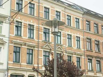 Kapitalanlage: gepflegte 3-Zimmer-Wohnung im Zentrum Zwickaus mit attraktiver Rendite!