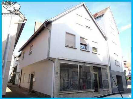 Bad Orb, Stadthaus: sehr gepflegtes Einfamilienhaus in Bad Orb mit Laden/Büro im Erdgeschoss