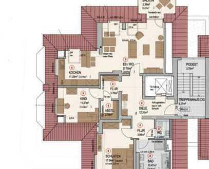 Exklusive- Penthouse Wohnung mit Traumhaften Ausblick in Hiddesen 3 Zimmer - 105qm