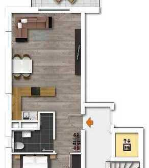 E-Werden Neubau-Eigentumswohnung mit viel Komfort,gr.Balkon, altersgerecht, Lift in die Tiefgarage!
