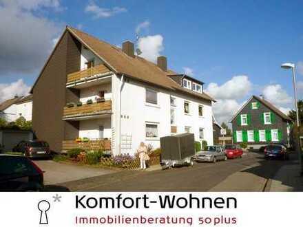 Dies wird Ihre neue Wohnung - 3-Zimmer-Dachgeschoss-Wohnung mit Wanne und Dusche