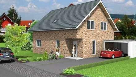 Einfamilienhaus Neubau mit Carport im Melmweg !
