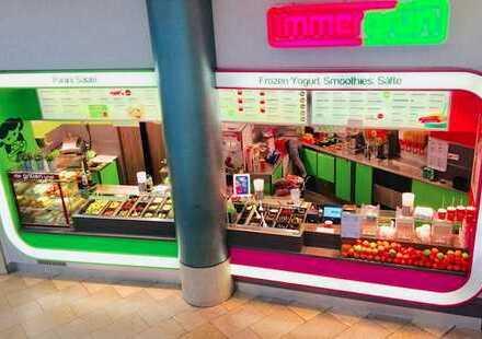 Immergrün Restaurant in 1A Lage mit besten Umsätzen! Ladengeschäft zur Pacht in den Schloss Arkaden