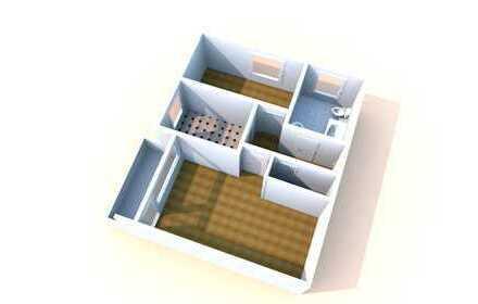 WBS erforderlich! - 2 Zimmer Wohnung mit Balkon und Aufzug