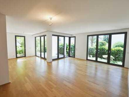 Moderne 3-Zimmer-Erdgeschosswohnung mit hochwertiger Einbauküche und Sonnenterrasse!