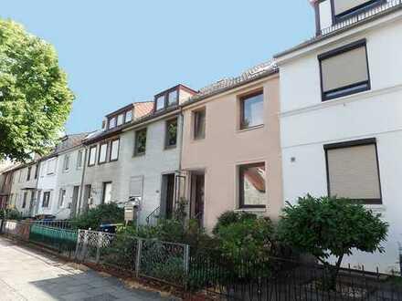 Wohnen in Walle, Bremer Reihenhaus mit Sonnengarten in beliebter Lage