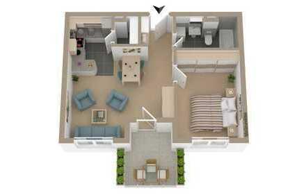 Tolle Wohnung in bevorzugter Lage mit Balkon