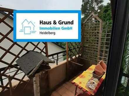 Haus & Grund Immobilien GmbH - geräumige 1-ZKB mit Balkon und EBK im Dachgeschoss in Eppelheim