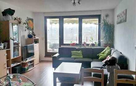 Schöne 1 ZKD-Terrassenwohnung in KA-Grötzingen, 40 qm mit Balkon, € 440,- + NK/HZ