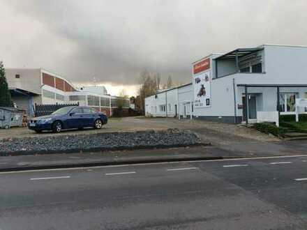 Wohnung mit Werkhalle und 600 QM Außengelände in Bonn Beul.Optimal für Autohandel.