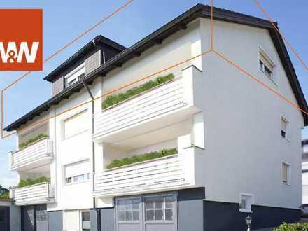 2 Min von der A93 - Dachgeschosswohnung mit Gartenanteil in Fronberg