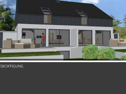Projektiertes Doppelhaus inkl. 610 m² grosses Baugrundstück in Calw in schöner Lage zu verkaufen!