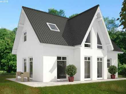Freistehendes Einfamilienhaus KfW55 in Neubaugebiet! Massiv gebaut und individuell planbar!