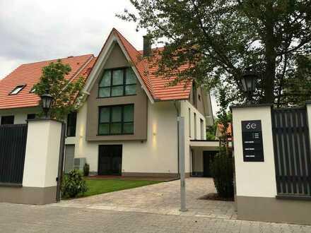 Architektenhaus zu vermieten, Neubau möbliert, historische Villenkolonie Buchschlag nahe Frankfurt