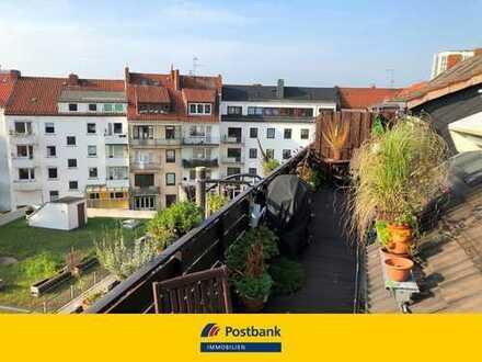Traumhafte Dachgeschosswohnung über zwei Etagen in Bremens Innenstadt