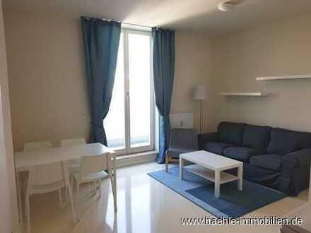 Möblierte helles 2,5 Zimmer Wohnung im DG mit großer Terrasse - Uninähe -frei ab sofort!!