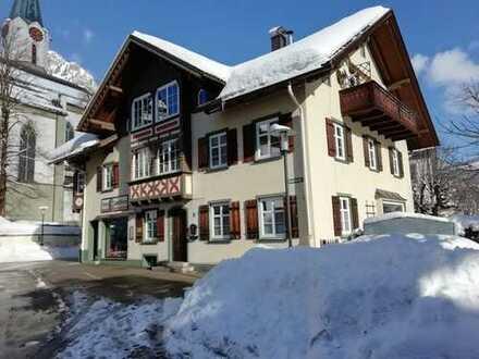 Erstbezug nach Sanierung: attraktive 2-Zimmer-Wohnung in Bad Hindelang