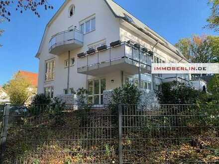 IMMOBERLIN: Helle Wohnung mit Südwestterrasse