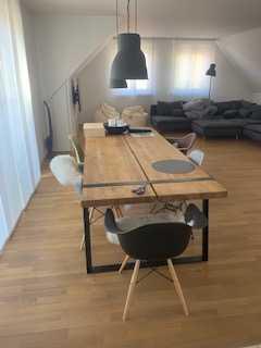 Exklusive, vollständig renovierte 4-Zimmer-Penthouse-Wohnung mit Balkon und Einbauküche in Mainburg