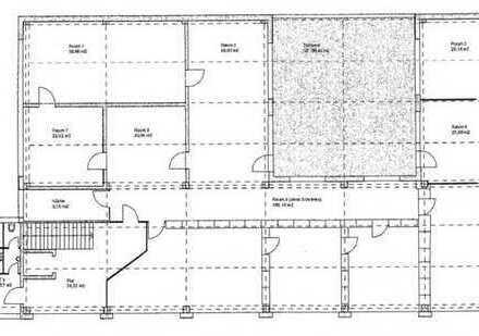 13_VB2316VH Halle (ca. 300 m²) und optional Büro mit Dachgarten (ca. 420 m²) / Regensburg - Ost