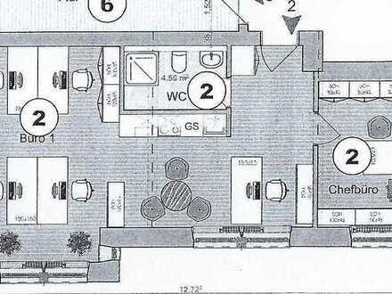 Kernsaniertes und modernes Arbeiten auf ca. 61 m² im klassischen Gebäude in Citylage