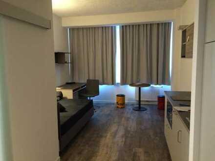 1-Zimmer-Wohnung für Studenten/Young Professionals mit Dachterrasse und EBK in Frankfurt a.M